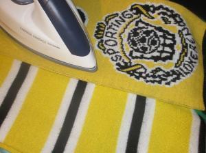 Sjaal strijken
